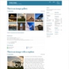Lacenenta Blue Color Simple Free Wordpress Theme