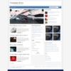 Meganews White Wordpress Theme