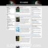 NorrisMag Free Dark Portal Wordpress Theme