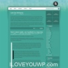 Forest Turquise Wordpress Theme