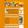 Disney Cartoon v1.0 Orange Color Kids Free Wordpress Theme