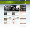 Blue Prism Green & Blue Free Wordpress Theme