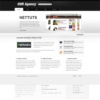 Modern Portfolio/Blog Wordpress Theme