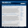 Blue Blog Wordpress Theme