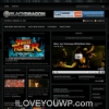 Black Dragon Dark Portal Wordpress Theme