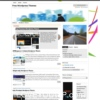 WPElegance White Free Portfolio Wordpress Theme