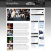Streamline Studiopress Dark Style Premium News Wordpress Theme