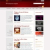 Inspiration Magazine Red Wordpress Theme