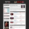 High Roller Black Wordpress Theme