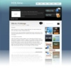 TweetMe Blue Portfolio & Magazine Free Wordpress Theme
