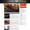 Wall Magazine Dark Portfolio Wordpress Theme