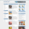 Aspherical Blue Portal Free Wordpress Theme