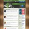 Zen Gins Free Green Mint Wordpress Theme