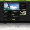 Blog Gallery Green Color Portfolio Premium Wordpress Theme
