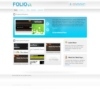 Folio Cms Blue Wordpress Theme