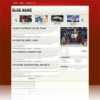 Glossy Magazine Red Free Wordpress Theme