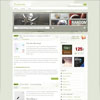 Harmonia Simple Green Showcase Premium Wordpress Theme