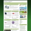 iBizPress Magazine Green Wordpress Theme
