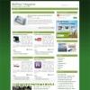 iBizPress Magazine Green Wordpress Theme
