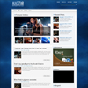 MagStar Dark Blue Premium Wordpress Theme