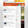 Minaflow Mkel's Orange Color Personal Free Wordpress Theme
