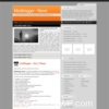 ModBlogger Orange & Gray Personal Wordpress Theme