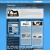 Newsday Blue Magazine Wordpress Theme