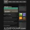 Night Light Dark New Portfolio Style Premium Wordpress Theme