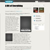 Publication Personal Blog Premium Wordpress Theme