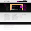 Uptown Darknote Purple Portfolio Premium Wordpress Theme