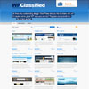WpClassified Blue Showcase Premium Wordpress Theme